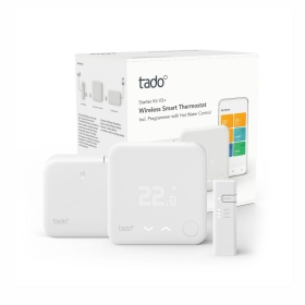 Termostat smart tado V3+ wi-fi cu starter kit si extension kit